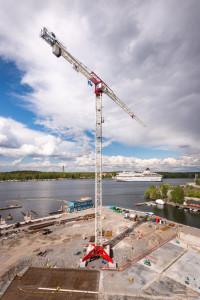 Ny Terex CTT 721 till projekt i Finnboda