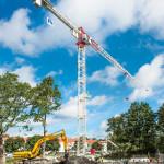 Ny Terex CTT 321 till projekt i Beckomberga